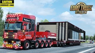 Download ✅ ETS2 - Special Transport DLC - 25t Container House (MOD) Video