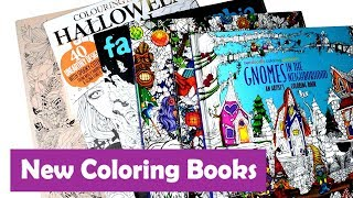 Download New Coloring Books | October Coloring Book Haul 3 Video