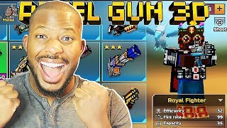 Download MY NEW WEAPON SETUP! | Pixel Gun 3D Video