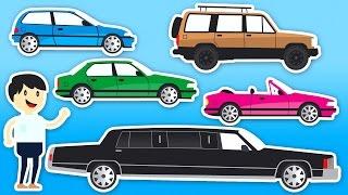 Download Nauka Pojazdów Dla Dzieci - Samochody Dla Dzieci - Kolorowanie   CzyWieszJak Video