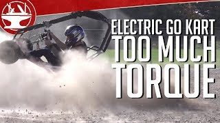 Download Overpowered Electric Go Kart has TOO MUCH TORQUE (54 FT-LB!) Video