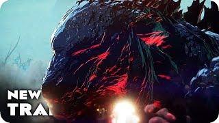 Download GODZILLA: MONSTER PLANET Trailer (2017) Japanese Anime Movie Video