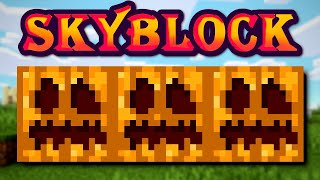 Download Finishing the 4 layer pumpkin farm | Hypixel Solo SkyBlock Video