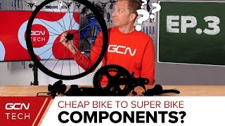 Download Groupset, Components & Plot Twist | Cheap Bike To Super Bike Ep. 3 Video
