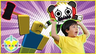 Download Roblox Flee the Facility RUN FROM THE BEAST Let's Play with Ryan ToysReview and Combo Panda Video