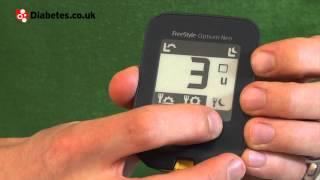 Download FreeStyle Optium Neo blood glucose meter review Video