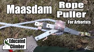 Download Maasdam Rope Puller (Rope Come-Along) for Arborists | Basic Rigging Techniques Video