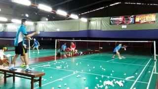 Download Kawasaki International Badminton Club training 82(24/02/15) Video