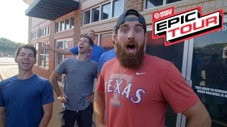 Download Dude Perfect Kicks Off The Epic Tour At The Red River Showdown! Video