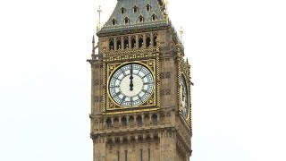 Download Big Ben's last bongs ring out before four-year repairs Video