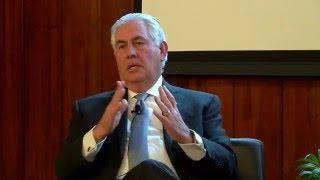 Download VIP Speaker Series: ExxonMobil's CEO Rex Tillerson Video