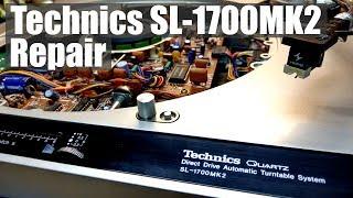 Download Technics SL-1700MK2 Turntable Repair Video