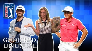Download DJ's hole-out FTW, a Caddyshack cameo & Rickie's proposal Video