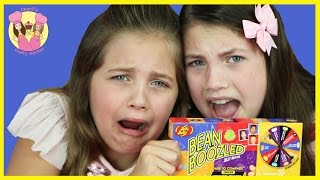 Download BEAN BOOZLED GAME 4TH EDITION Gross vs good food jelly belly challenge - kids taste test Video