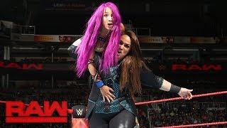 Download Sasha Banks & Bayley vs. Alexa Bliss & Nia Jax: Raw, July 3, 2017 Video