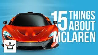 Download 15 Things You Didn't Know About MCLAREN Video