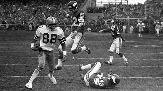 Download Staubach's 'Hail Mary' Cowboys vs. Vikings 1975 Divisional Round Game highlights Video