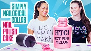 Download How To Make A NAIL POLISH BOTTLE CAKE | SIMPLY NAILOGICAL & Yolanda Gampp | How To Cake It Video