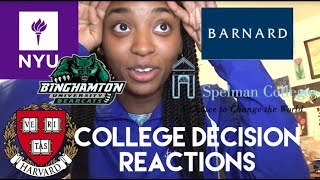 Download COLLEGE DECISION REACTION 2018 (NYU, Harvard, Spelman and more) Video