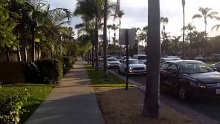 Download Walking Orange Ave. Coronado, CA: tourist in my own city (Part 6) Video