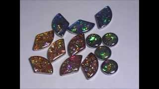 Download Resin Craft DIY How to make Awesome Faux Bezeled Fire Opals & Recycling (winner is Corrina Marriot) Video