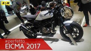 Download Eicma 2017 - Husqvarna Vitpilen 701 / 401 [ENGLISH SUB] Video