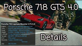 Download Porsche 718 GTS 4.0 details. Fixing the Porsche problem child. Video