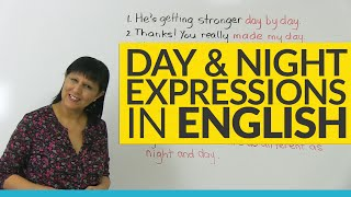 Download Do you know these DAY & NIGHT idioms in English? Video