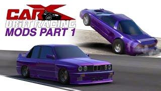 Download CarX drift racing Mods PART 1 | Drag NSX & Slammed E30 Video