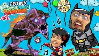 Download BATMAN CHALLENGE GAMES! FGTEEV Scribblenauts Showdown #2 (THE MUSICAL w/ Lex & Dudz) Video