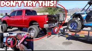 Download CAN YOU PULL A TRAILER ONLY USING DUCT TAPE? Video