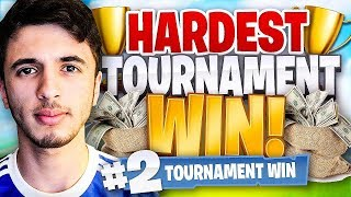 Download MY HARDEST PRO TOURNAMENT WIN ON FORTNITE BATTLE ROYALE Video