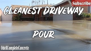 Download How to Pour a Concrete Driveway Complete Tear out! Clean Finish! Video