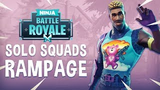 Download Solo Squads Rampage!! - Fortnite Battle Royale Gameplay - Ninja Video