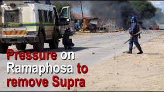 Download Pressure on Ramaphosa to remove Supra Video
