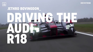 Download Driving Audi's 1000bhp R18 LMP1 race car Video