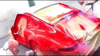 Download Porsche Carrera 2 1989 Full Restoration. The Bodycentre Ltd Norwich Video