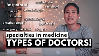 Download What are the different types of doctors? Specialties in Medicine! Video