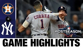 Download George Springer, Carlos Correa power Astros to ALCS Game 4 win | Astros-Yankees MLB Highlights Video