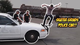 Download SKATERS vs. THE WORLD! | Skateboarding Kick Outs / Skaters vs. Haters Video