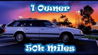 Download I Bought A 1990 Oldsmobile Cutlass Wagon For $825 Video
