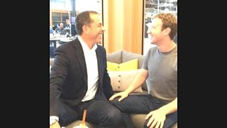 Download Seinfeld asks Zuckerberg what's the first thing Zuck does in the morning? Video