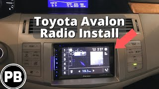 Download 2005 - 2010 Toyota Avalon Touch Screen Stereo Install Video