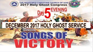 Download RCCG December 2017 HOLY GHOST SERVICE ″Songs Of Victory″ Video