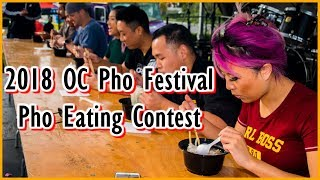 Download Pho Eating Contest at the First OC Pho Festival in Fountain Valley | #RainaisCrazy Video