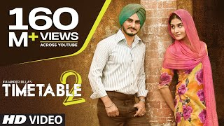 Download Kulwinder Billa Time Table 2 (ਟਾਈਮ ਟੇਬਲ 2) Full Video | Latest Punjabi Song 2015 Video