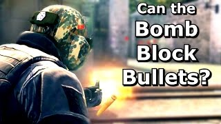 Download CS GO: Can bullets be blocked with thrown items? Video
