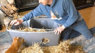 Download DIY Outdoor Cat Shelter Video