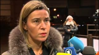 Download Arrival and doorstep of EU HR/VP Federica Mogherini Video