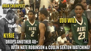 Download NEW BOSTON CELTIC KYRIE IRVING SHUTS DOWN AEBL AGAIN AND GETS MVP   Collin Sexton watches‼️ Video